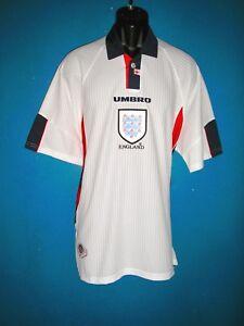 1998 England Home Football Shirt   [XLarge] World Cup France