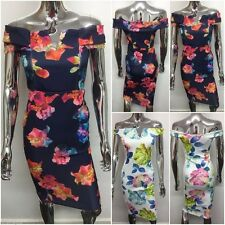 Boat Neck Sleeveless Casual Stretch, Bodycon Women's Dresses