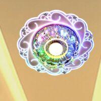 Modern Crystal 3W 5W LED Ceiling Light Fixture Pendant Lamp Lighting Chandelier