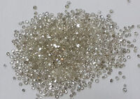 20pc Natural Loose Single Cut Diamond Lot 0.8-1mm Size J Color SI Clarity Round