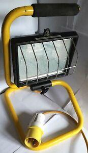 500 WATT - 110 VOLT - FLOOR STANDING PORTABLE - SITE FLOOD LIGHT - low use