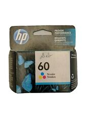HP 60 Tri-Color Ink Cartridge CC643WN Genuine EXP 2019-2020