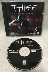 1998 Eidos Thief The Dark Project PC CD-ROM Game - TESTED!
