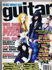 ORIGINAL Vintage January 1994 Guitar School Magazine White Zombie U2 Edge