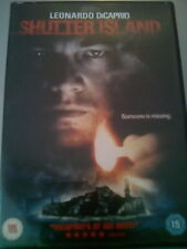 Shutter Island (DVD, 2010) with Leonardo DiCaprio in good condition