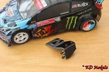 HPI RS4 Micro Mechanical Servo Plate Upgrade to Fix Loose Servo 1/18th Ken Block