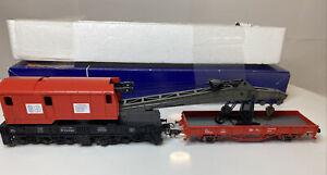 Roco 56240  Kranwagen mit Schutzwagen DB AG Ep V