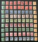 Australia Pre decimal stamps..bulk lot QE II, KG VI, Koala, Kangaroos(81 stamps)