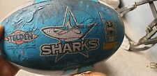 Cronulla Sharks Signed NRL Rugby Ball