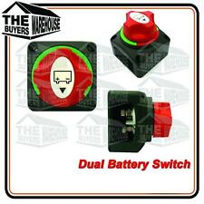 BATTERY MASTER SWITCH BOAT MARINE CARAVAN DUAL SYSTEM  61084BL NARVA  COMPETITOR