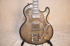 James Trussart SteelTop B5 Bigsby Gator Engraved Guitar