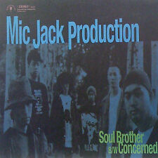 Mic Jack Production - Soul Brother / Concerned / VG+ / 12""