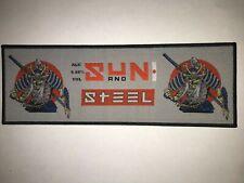 Iron Maiden Trooper Samurai strip patch black