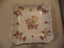 Pittoria Richard Ginori 1824 Fleurs Par Donnibarozopi Flowers Gold Gilt Bowl!