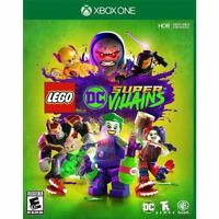 NEW! LEGO DC SUPER VILLAiNS (Microsoft XBOX ONE)  Sealed! SHIPS FREE