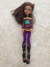 "Monster High 11"" Doll CLAWDEEN WOLF WEREWOLF 2008 SCHOOLS OUT School's"
