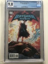 Batman And Robin #14 CGC 9.8 Grant Morrison Frank Quitely Cover White Pages