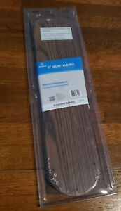 Westinghouse 52 in Oak Walnut Indoor Replacement Ceiling Fan Blades Set 5 Pack