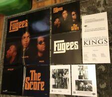 FUGEES MUHAMMAD ALI 1996 Score When We Were Kings PRESS KIT PHOTOS RAP HIP HOP