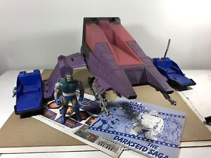 DC Super Powers Darkseid Destroyer Vehicle 1985 Kenner decals figure saga record