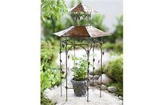 Miniature Dollhouse FAIRY GARDEN - Orchard Pavillion - Accessories