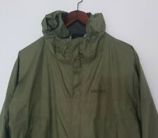 Marmot con Cappuccio Giacca Pioggia Vento Giacca Giubbotto di transizione giacca giacca windbreaker XL