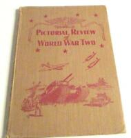 Pictorial Review of World War Two-1942-Army-Navy-Marines-& Coast Guard-HC