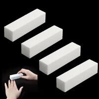 1X Nail File Buffer Block Sanding Sponge UV Gel Art Manicure Polisher Tool