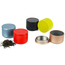 Airtight Smell Proof Container Aluminum Herb Stash Jar Metal Sealed Can Tea  .kn