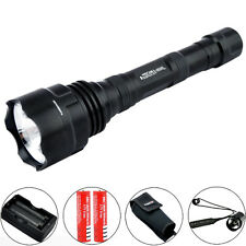 Trustfire 1600LM CREE XM-L2 LED Tactical Rechargeable Flashlight + Remote Switch