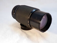 Canon C/FD Mount KIRON 70-210mm f/4 Lens  w/ Zoom Lock- Japanese Kino Precision!