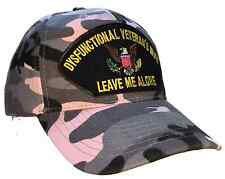 DYSFUNCTIONAL VETERAN'S WIFE HAT - BLACK and PINK CAMO