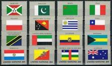 United Nations - New York postfris 1984 MNH 448-463 - Vlaggen / Flags
