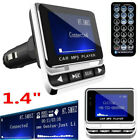 1.4 inch Car Bluetooth FM Transmitter USB Charger Hands-free MP3 Radio Adapter