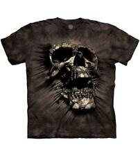 The Mountain Mens / Womens Breakthrough Skull Ripping Out T-Shirt, Black, Large