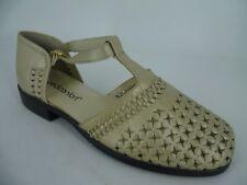 Pediconfort T Bar Closed Toe Shoes Beige UK 6 EU 39 LN092 UU 13