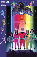 Mighty Morphin Power Rangers #29 Sub Variant Comic Book 2018 Boom Shattered Grid