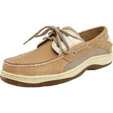 Sperry Top-Sider Men's Billfish 3-Eye Tan/Beige Boat Shoe NWB