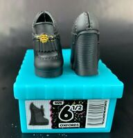 LOL OMG CLASS PREZ Replacement Black Platform Shoes Empty Box NEW