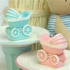 3D Baby Stroller Silicone Candle Mold Resin Clay Soap Molds Fondant Cake Decor c