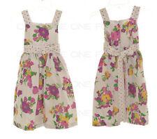 Vêtements multicolores habillés pour fille de 2 à 16 ans