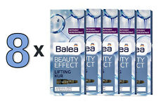 BEST PRICE! 8 PACKS of Balea Beauty Effect Lifting Kur Ampoules Firming Anti-Age