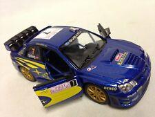 "2007 Subaru Impreza WRC 5"" Diecast 1:36 PullBack Kinsmart Toy Blue"