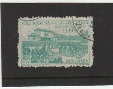 Vietnam S.E. Asia 5000 Dong Stamp for Return of Government to Hanoi 1955