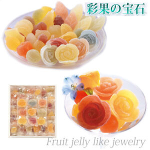 TOMIZEN FOODS JAPAN Fruit Jellies like Jewelry Hard Jelly 63 pcs 081807