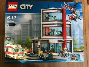 Lego 60204  City Hospital 861 pieces age 6-12 Rare ~Brand NEW ~