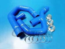 FRONT INTERCOOLER SILICONE PIPE FOR VW GOLF MK5/MK6/GTI/JETTA/AUDI A3 2.0T BLUE