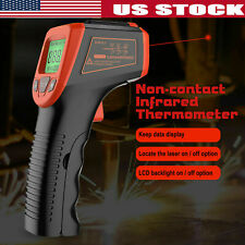 Industry Temperature Gun Digital No Contact Laser Infrared Thermometer Ir Meter