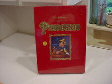 NEW SEALED Disney PInocchio MASTERPIECE Exclusive Deluxe Video Edition VHS