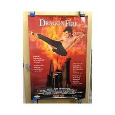 DRAGONFIRE Original Home Video Poster Martial Arts